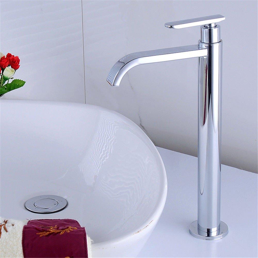 AQiMM Waschtischarmatur Wasserhahn Waschbecken Eine Kalte Badezimmer Mischbatterie