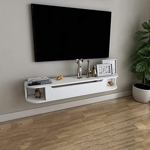 LTJTVFXQ-shelf Estante Flotante de Pared para TV, Consola de TV ...
