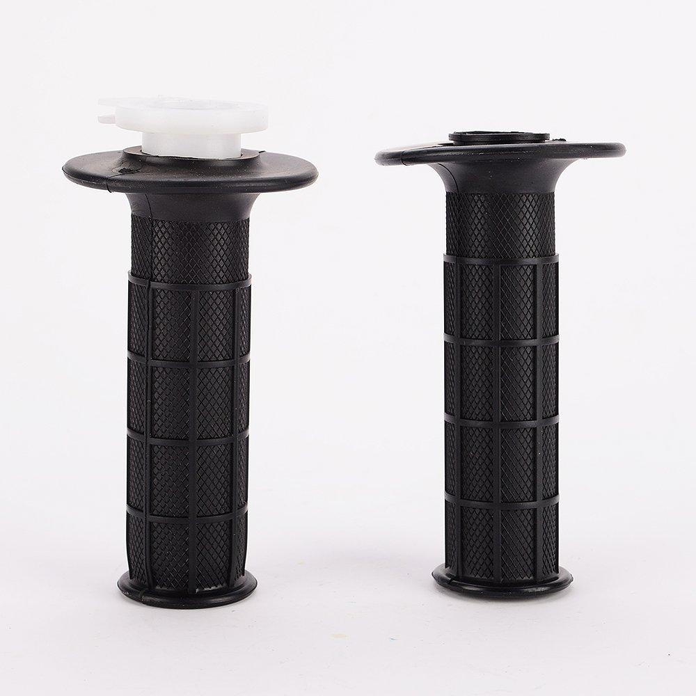 IZTOSS Twist Throttle Hand Grips Cable Set For Honda CRF XR 50 70 TTR KLX110 Pit Dirt Bike Bicycles