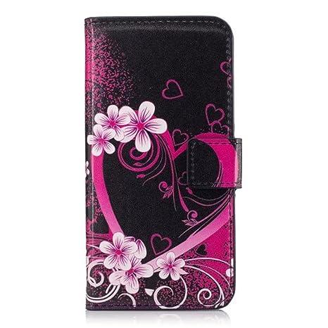 selezione premium 85266 d2604 HUANGTAOLI Custodia Case Flip Cover per Huawei P8 Lite Smart