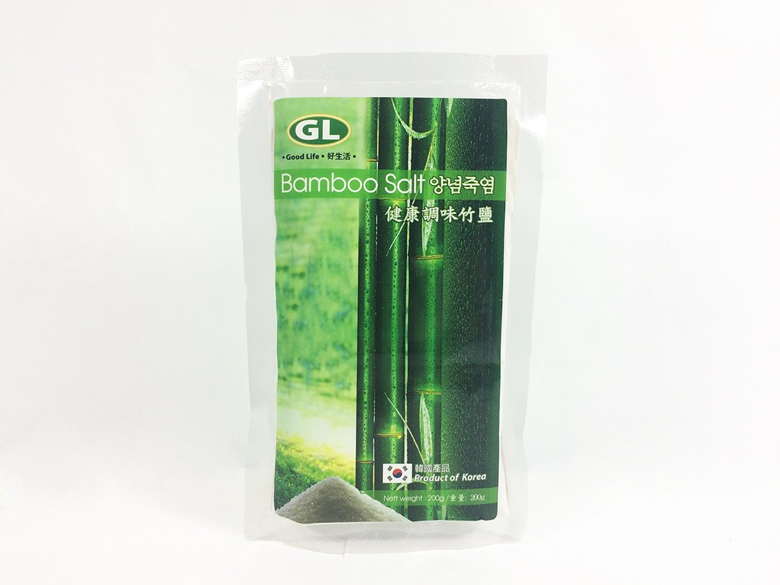Bamboo Salt Organic Premier Cooking Salt 3 times roasted bamboo salt act as sodium replacer 200g By GL Bamboo ( 3 Pack ) by GL Bamboo
