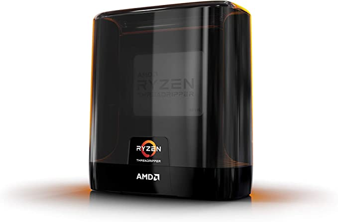 Amazon Com Amd Ryzen Threadripper 3990x 64 Core 128 Thread Unlocked Desktop Processor Without Cooler Computers Accessories