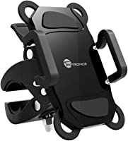 Bike Phone Mount Bicycle Holder, TaoTronics Universal Cradle for iOS, Android Smartphones, GPS, and Other Compatible...
