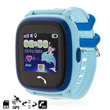 DAM TEKKIWEAR. DMW009BLUE. Smartwatch con Localizador GPS Kids K9 ...