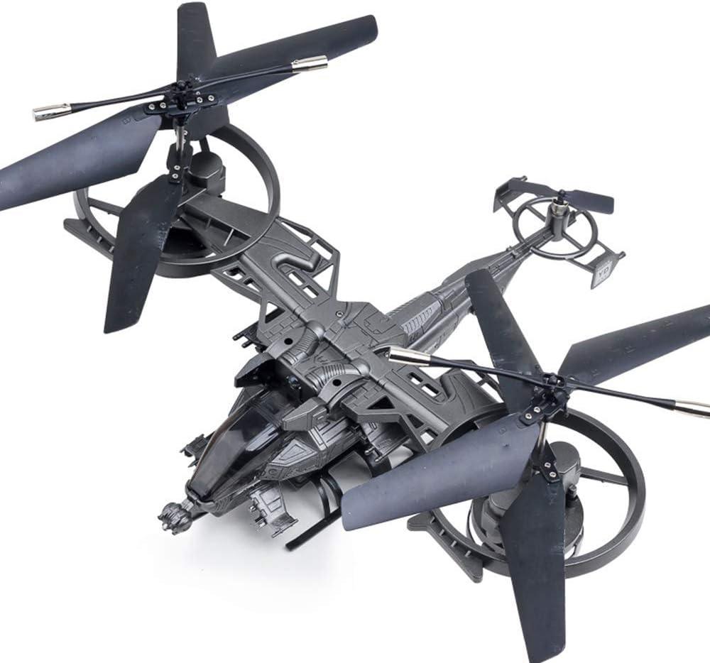 RVTYR RC helicóptero 4CH 2.4Ghz RC Aviones de Combate Doble Cuchillas RTF Grande helicóptero RC Aviones no tripulados Juguetes 360deg;Posicionamiento Exacto Anti-colisión y Anti-Gota dron dji