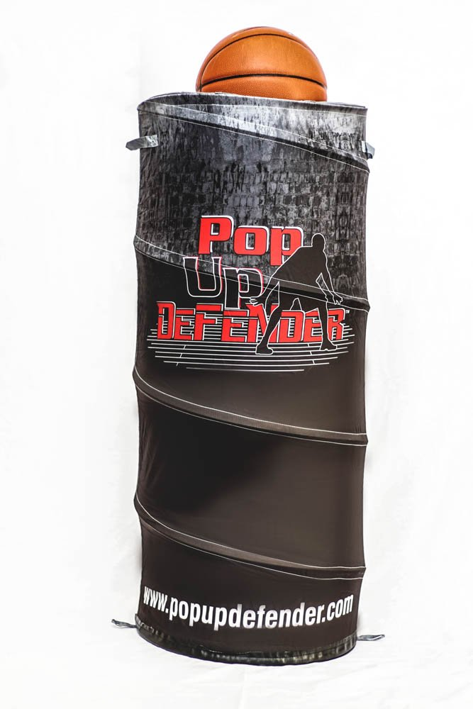 Pop Up Defender: Ultimate Sports Training Device For Basketball, Soccer, Hockey, Lacrosse,
