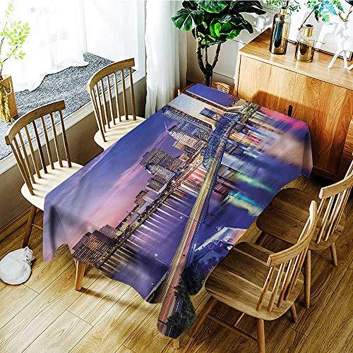 (PriceTextile Urban,Tablecloth Custom Jacksonville Florida Building 70