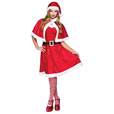 4605b67fdf817 Little Miss Santa - Adult Costume Lady: Plus Size