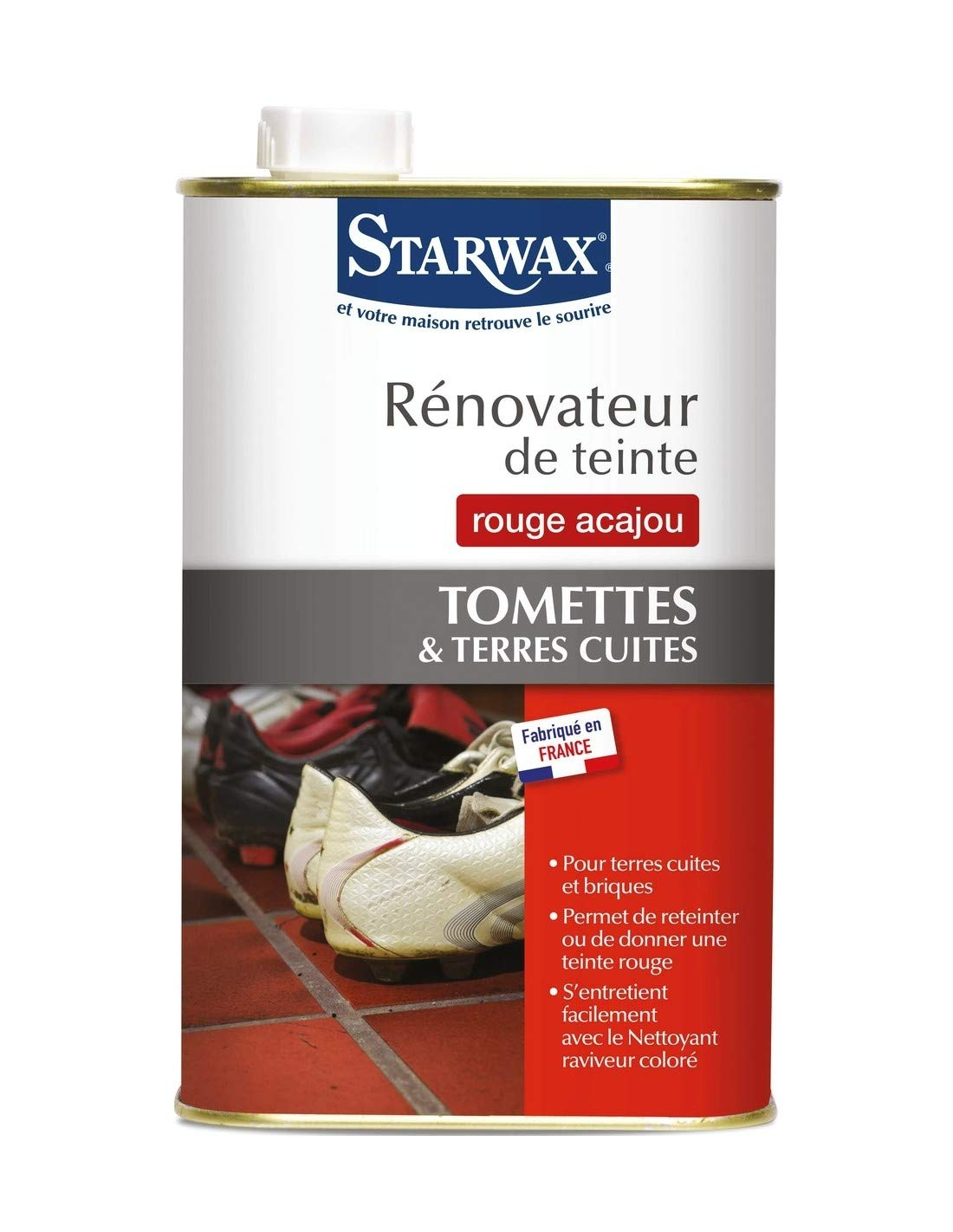 Starwax Cemevax Touchup Paint Terracotta Red BRUNEL 763