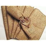 Tablecloth Burlap Natural Napkins 17 X 17 Inch (6 Units) By Broward Linens