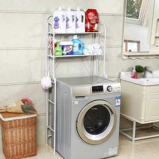 MAIKA HOME - Lavadora/WC Estante de almacenamiento/lavabo/estantes ...