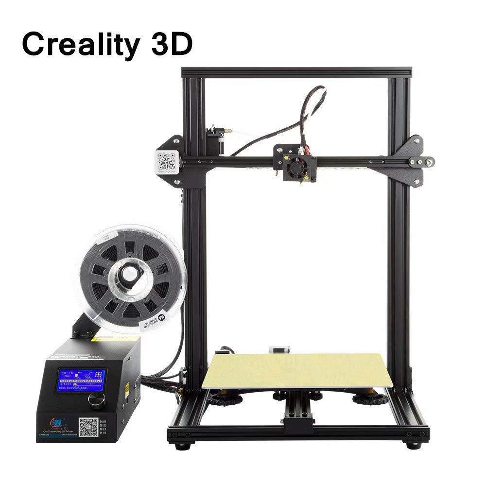 Laecabv Creality CR-10 3D Printer Impresora 3D - Gran volumen de ...