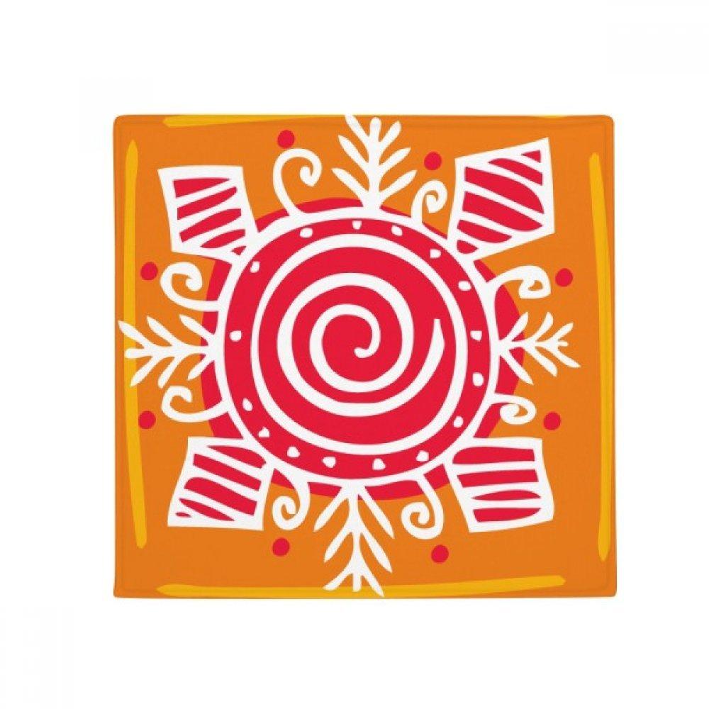 DIYthinker Vortex Mexico Totems Ancient Civilization Anti-Slip Floor Pet Mat Square Home Kitchen Door 80Cm Gift