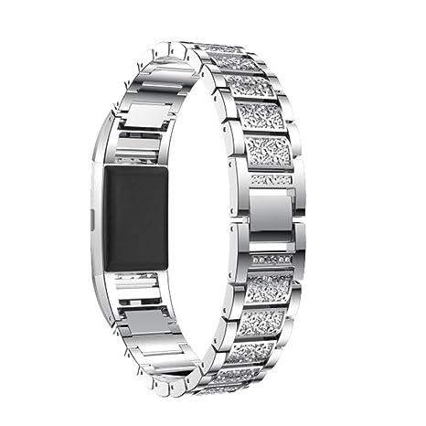 Señor Reloj Digital, sonnena correa de cristal de lujo de acero inoxidable con correa de