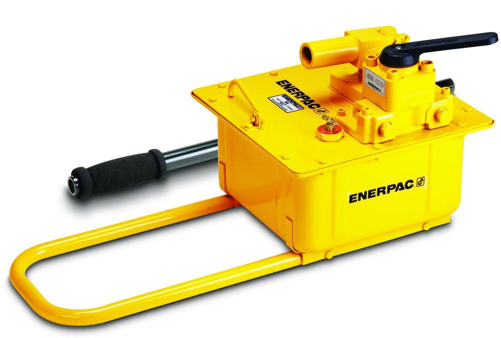 Enerpac P-464 Hand Pump with 4 Way Valve
