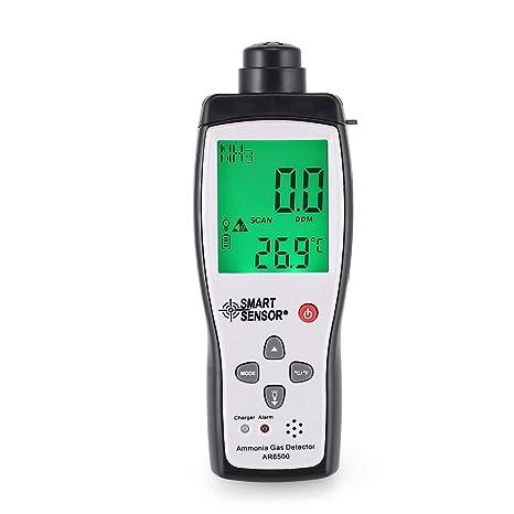 Probador del analizador del Detector de Gas de la Temperatura del amoníaco del Metro del Monitor