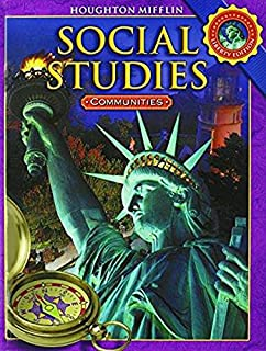 Houghton Mifflin Social Studies Practice Book Level 3 Communities Pearson Social Studies Grade 3 Houghton Mifflin Social Studies Student Edition Grade 3 Communities 2008
