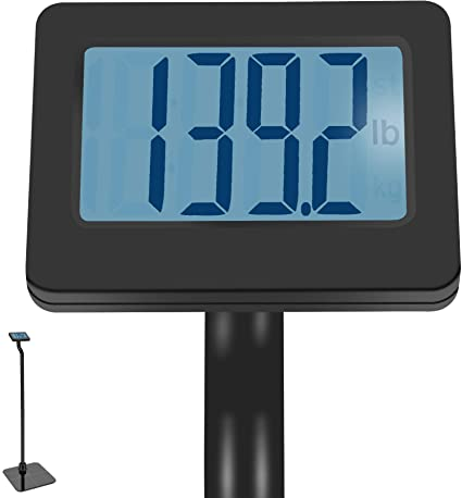 Up To 550 lbs. Digital Body Weight Bathroom Scale with Extendable Display