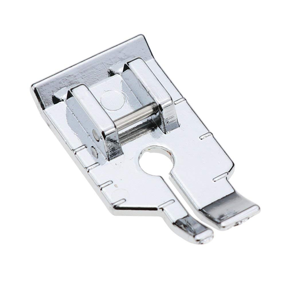 1/4'' (Quarter inch) Quilting Patchwork Sewing Machine Presser Foot for All Low Shank Snap-On Singer, Brother, Babylock, Euro-Pro, Janome, Juki, Kenmore, New Home, White, Simplicity Stormshopping