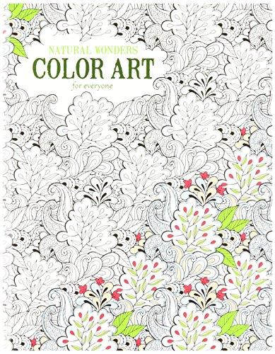 Leisure Arts 6704 Natual Wonders Coloring Book