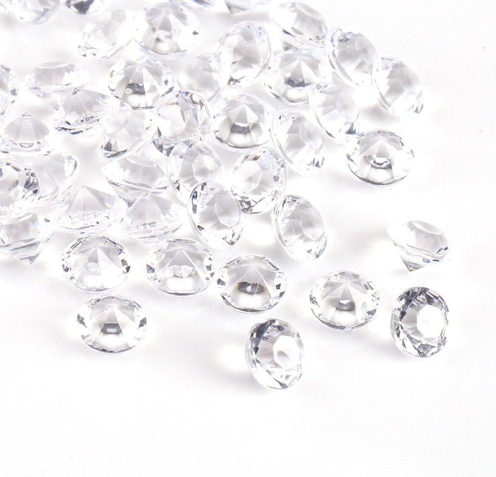 1000Pcs//Bag 4.5mm Clear Acrylic Beads Vase Filler Wedding Party Decor Table Decoration DIY Ornament Accessories Black