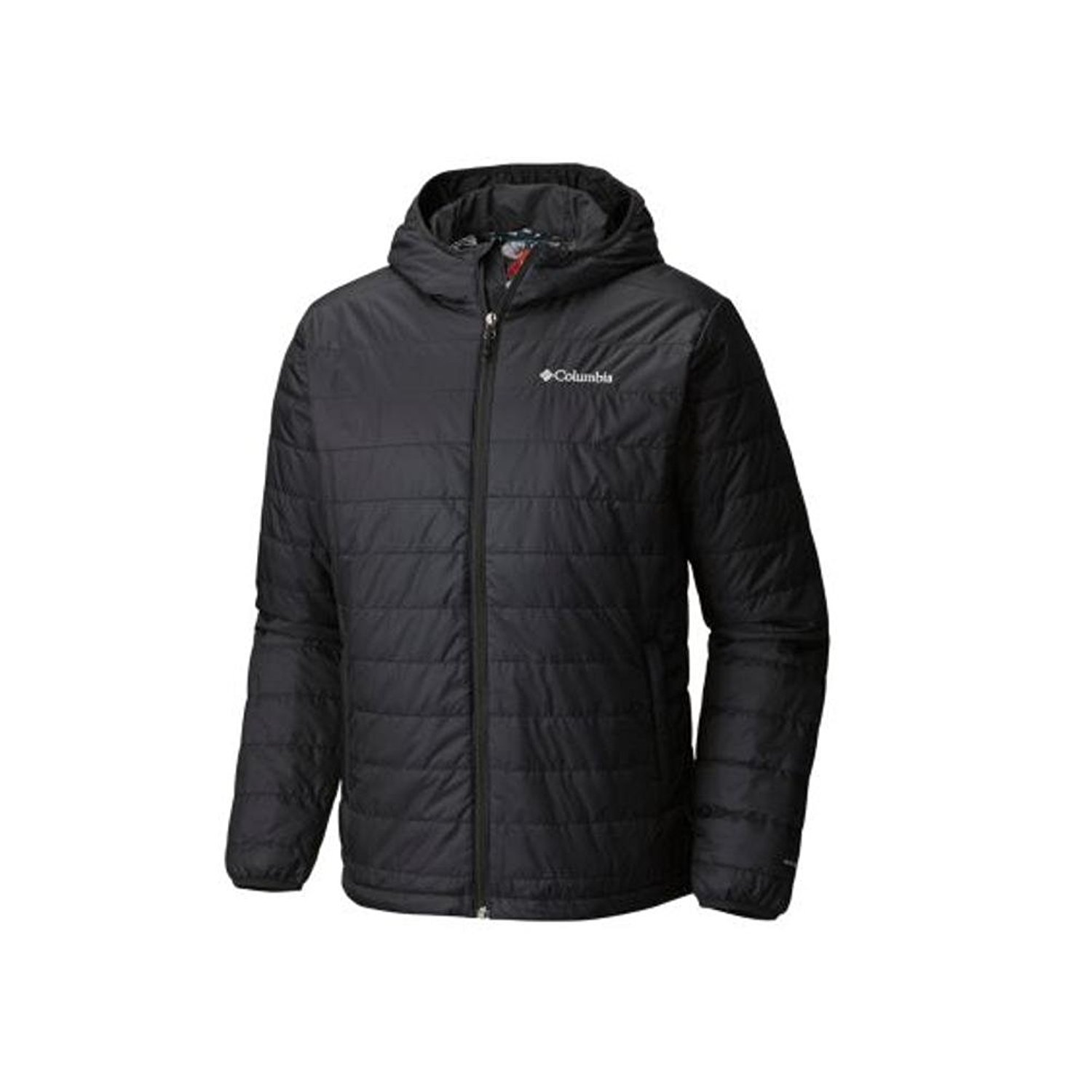 Columbia Mens Crested Butte Omni-Heat Hooded Jacket, Black (XX-Large) by Columbia