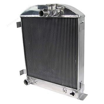 3 ROWS ALUMINUM RADIATOR FOR FORD 1932 Hi-Boy Chevy engine hotrod 32