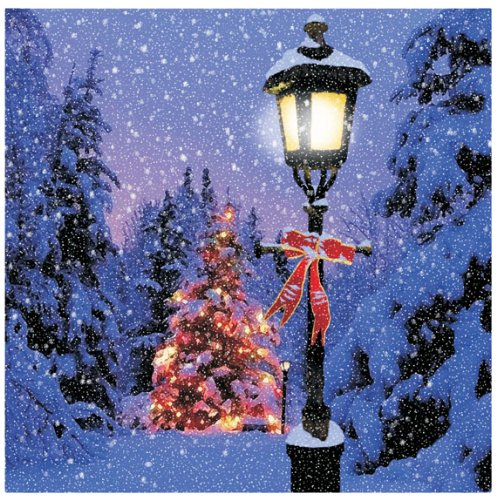 Ohio Wholesale Radiance Lighted Lamp Post Canvas Wall Art, from (Wholesale Post)