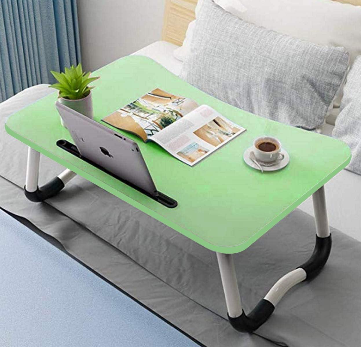 Support de lecture Plateau de lit Table de lit r/églable pour ordinateur portable Plateau /à caf/é 60 x 40 cm Pour ordinateur portable Pour lit et canap/é Pour petit-d/éjeuner Pour enfant