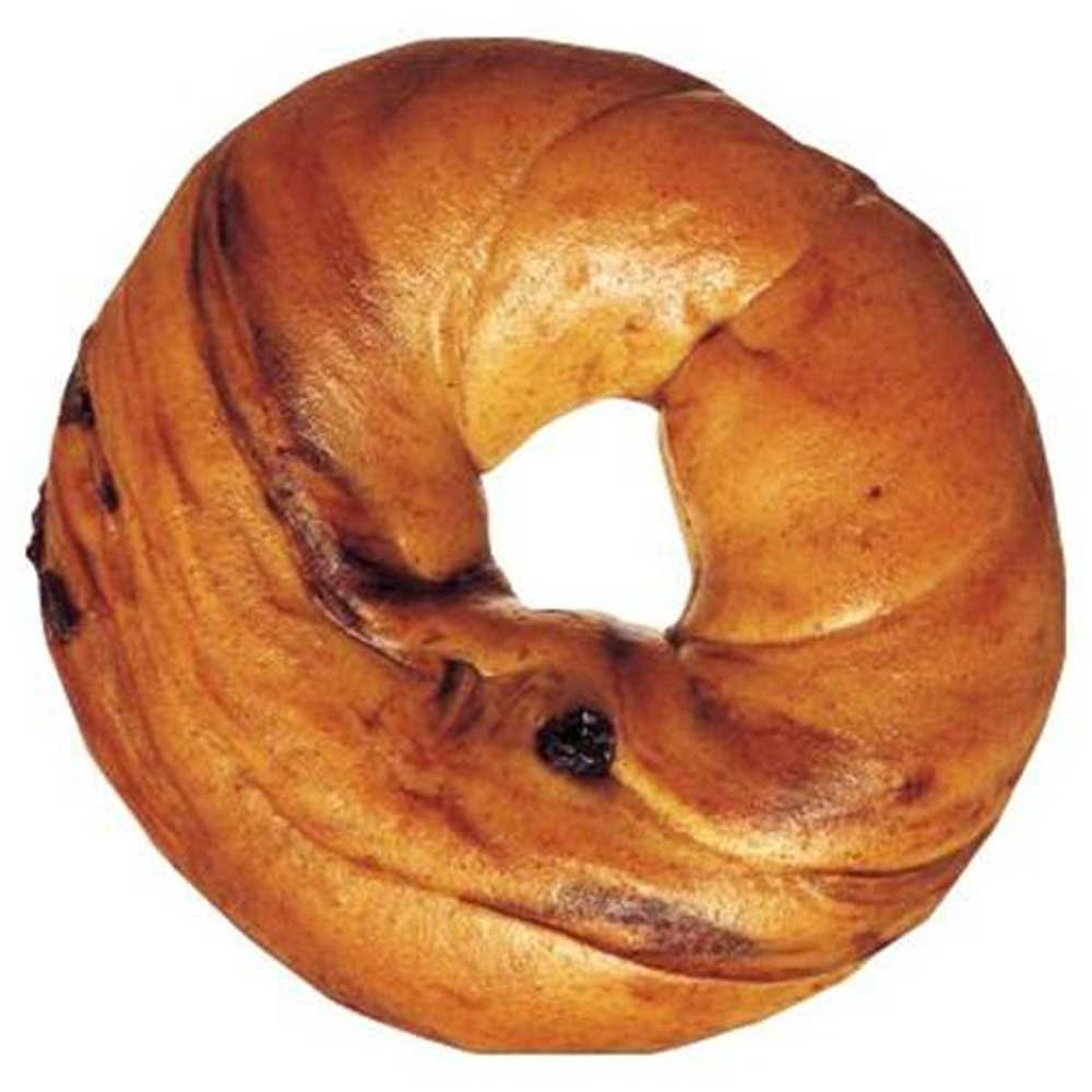 Burry Foodservice Thaw and Sell Sliced Cinnamon Raisin Bagel, 4 Ounce - 72 per case. by Burry Foodservice