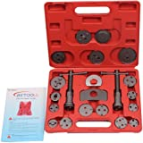 BETOOLL HW0037 21pcs Disc Brake Pad and Caliper Wind Back Kit