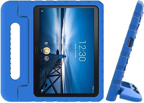 EASYCOB - Funda para tablet Lenovo Tab M10 Tab P10 10.1 pulgadas X605 2019, EVA a prueba de golpes, funda protectora con soporte: Amazon.es: Electrónica