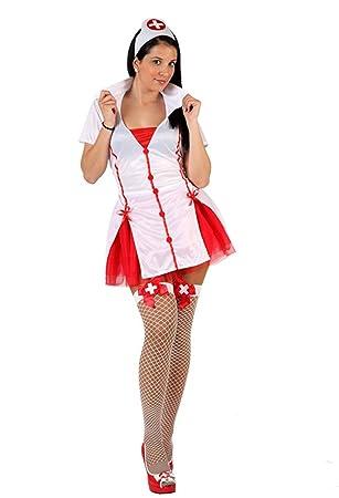 Disfraz de enfermera para mujer: Amazon.es: Juguetes y juegos