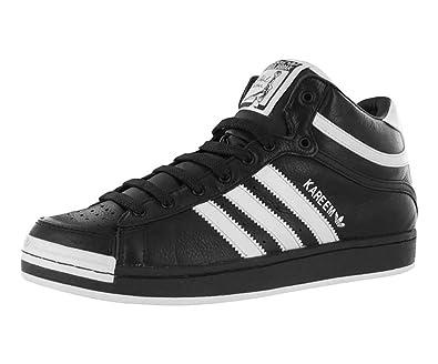 adidas Men S Kareem Abdul Jabbar Mid Casual Shoe Black d2fc36a3d