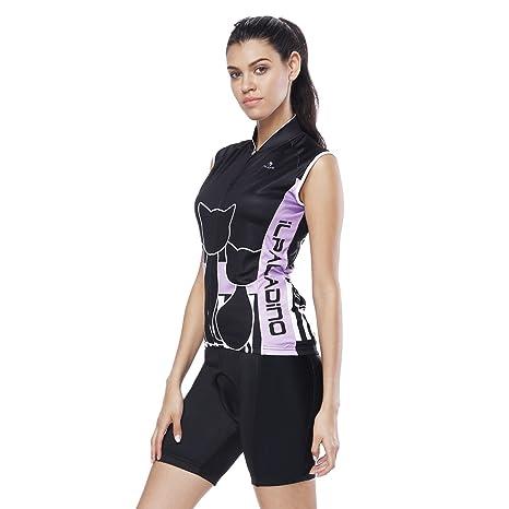 YGBH Jersey de Ciclismo Conjunto de Mujer Traje MTB ...