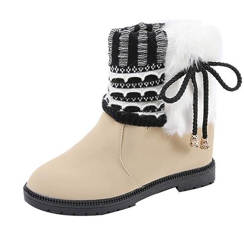 Botas, Manadlian Botas de Invierno para Mujer Zapatos Botines cálidos: Amazon.es: Zapatos y complementos