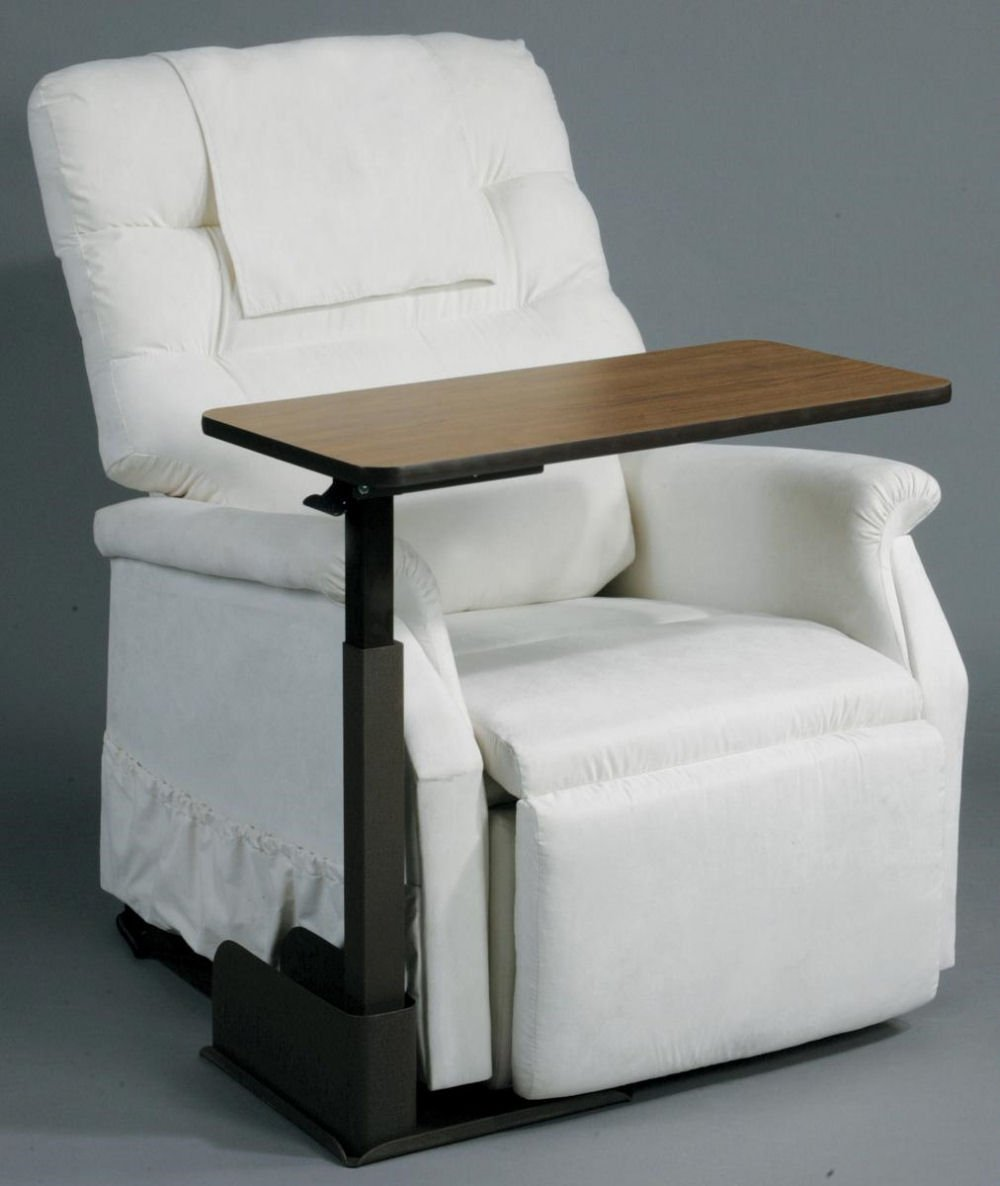 Drive Medical Ltd AM Fab Over Riser Table for Rise and Recline Chair Left Hand Side : left handed recliner - islam-shia.org