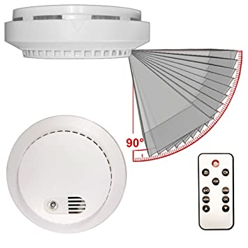 Amazon.com: palmvid DVR Lite detector de humo cámara oculta ...