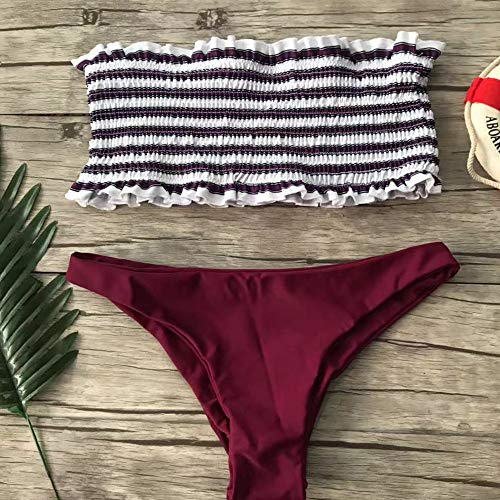 Buy smocked bathing suit high wasted