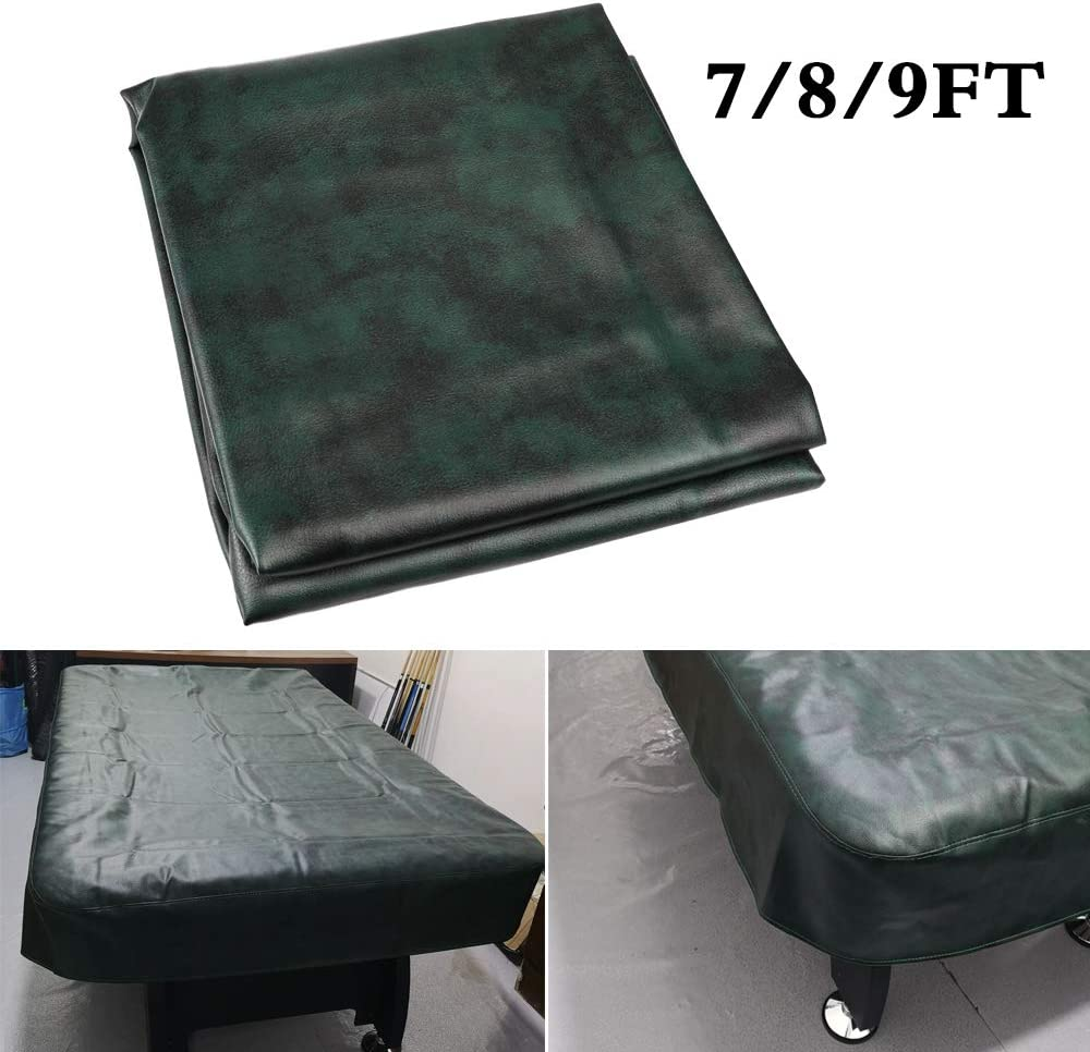 Boshen Heavy Duty Fitted Leatherette Billiard Pool Table Cover