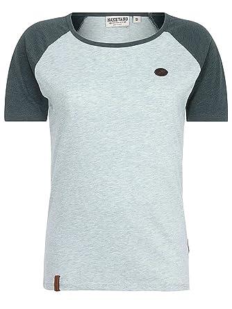 Naketano Damen T-Shirt Gebumst Wie Gebämst T-Shirt  Amazon.de  Bekleidung 5c70ea6620