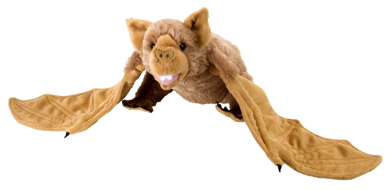 Amazon Com Wild Republic Vampire Bat Plush Stuffed Animal Plush