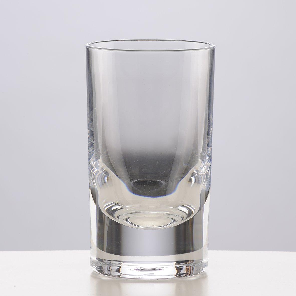 Mario Luca Giusti Set 6 Whiskey Glass Transparent