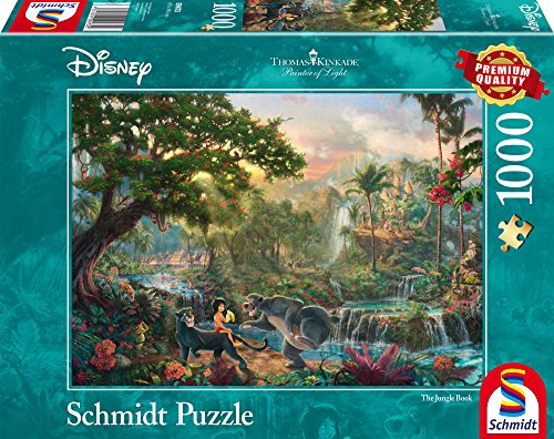Schmidt Spiele - 59473 - Disney Le livre de la jungle