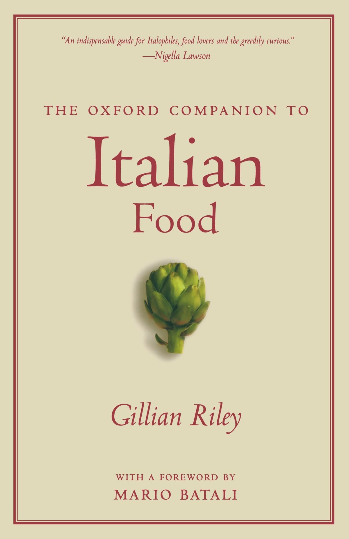 The Oxford Companion to Italian Food (Oxford Companions) by Oxford University Press