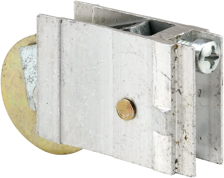 Prime-Line Products D 1956 Sliding Lawson Door Roller Assembly with 1-1//2-Inch Steel Ball Bearing 1-Pack Mill