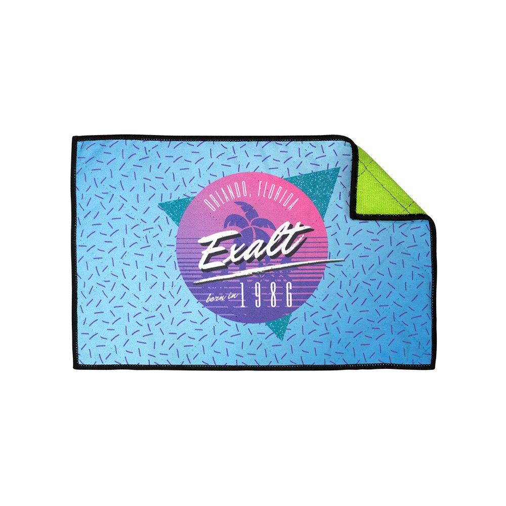 Exalt Paintball Microfiber Goggle Cloth - Player Size - Retro by Exalt
