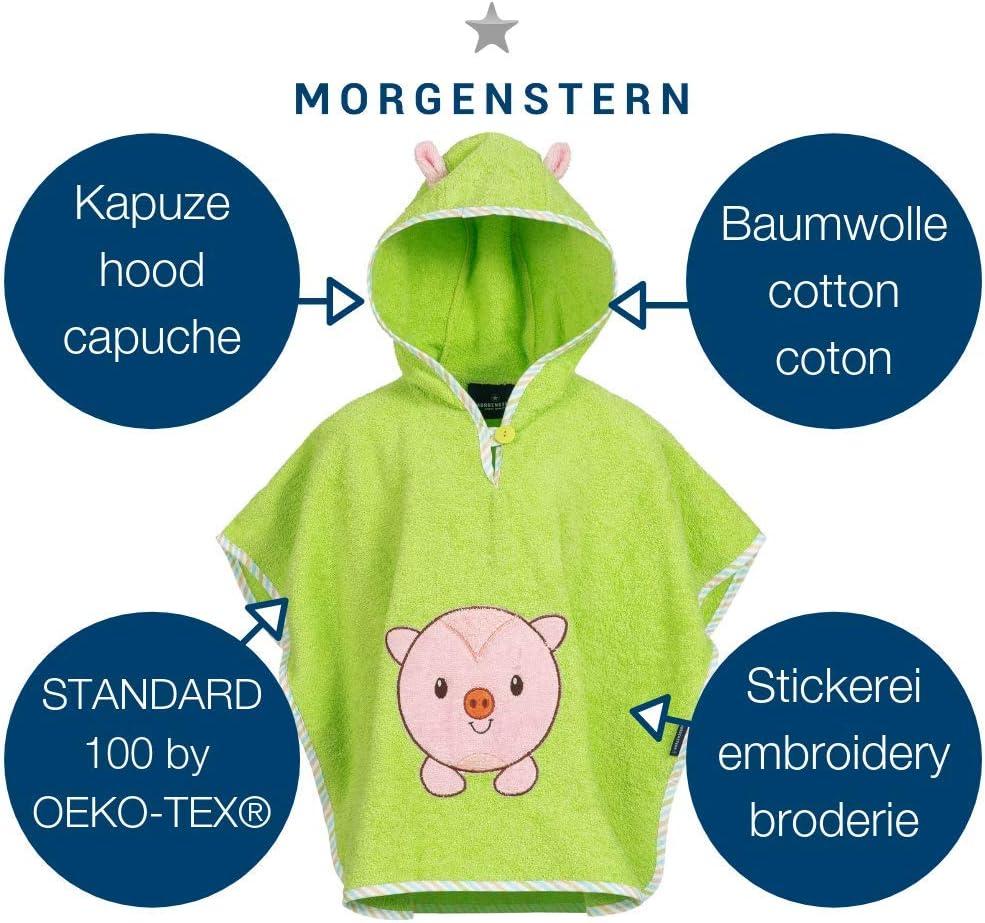 1-3 a/ños Morgenstern Poncho de algod/ón Verde