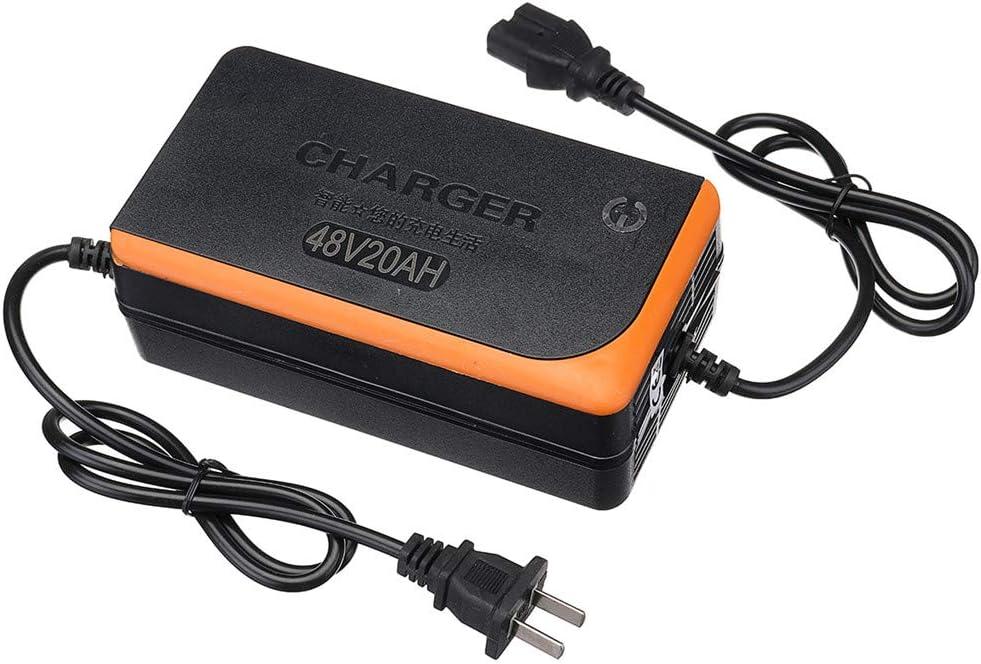 CHIMAKA Puissance intelligente acide de chargeur de batterie de plomb de scooter /électrique de v/élo de moto de 48V 20AH Pi/èces neuves