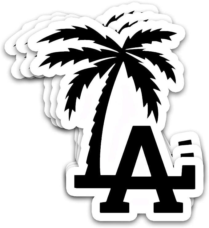 anaheim california small vinyl stickeracrylic watercolor skylinecalifornia adventuretravel tourist souvenir